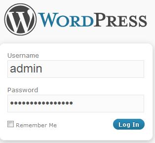 wordpress-login-user-pass